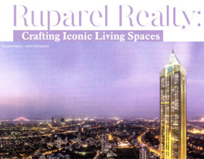 Ruparel Realty :  Crafting Iconic Living Spaces
