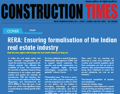 RERA : Ensuring formalisation of the India real estate industry