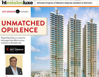 Mid Day : Ruparel Skygreens - Unmatched Opulence