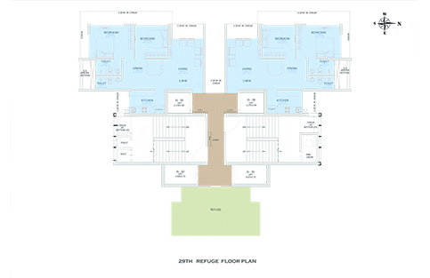 29th REFUGE FLOOR PLAN