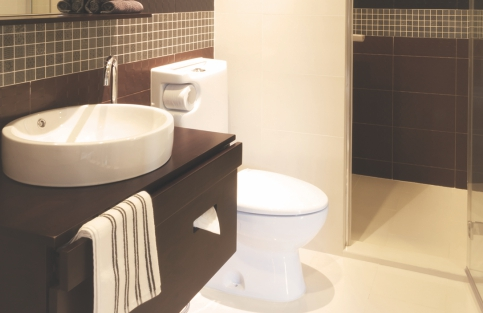 Bath Spaces with international class sanitary ware