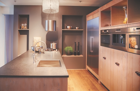 Fully furnished designer modular kitchen