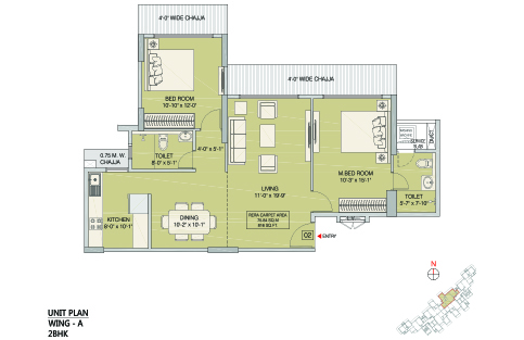2BHK - A WING