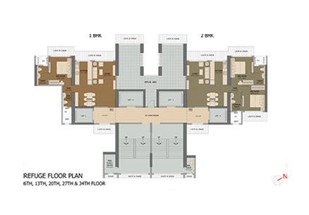 REFUGE FLOOR PLAN