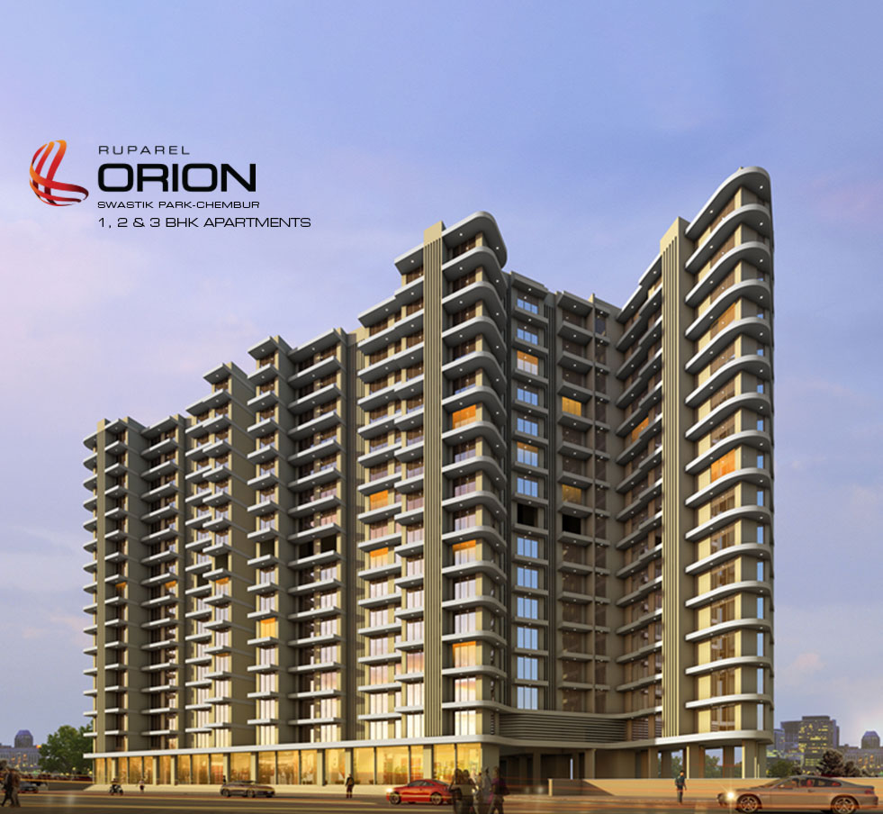 Ruparel Orion Swastik Park Chembur: 1,2 & 3 BHK Apartments