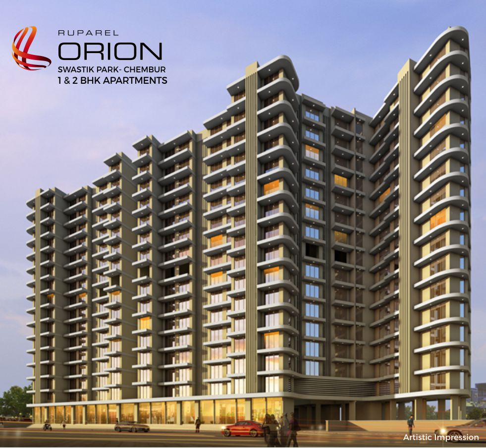 Ruparel Orion Swastik Park Chembur: 1,2 BHK Apartments